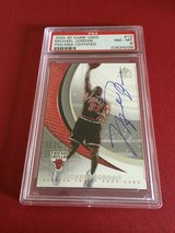 MICHAEL JORDAN / CHICAGO BULLS autographed card psa/dna certified in Okinawa, Japan