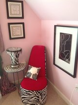 Shoe Chair/table/lamp in Naperville, Illinois