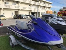 2012 Yamaha VX Deluxe Wave Runner w/trailer in Okinawa, Japan
