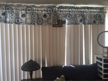 2 sets of vertical blinds for sliding glass doors $20 each in Fort Bragg, North Carolina