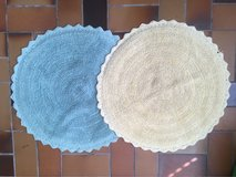 cute round bath mats from World Market in Baumholder, GE