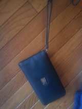 BLACK LEATHER WRISTLET in Elgin, Illinois