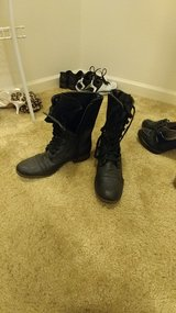 Black boots in Fort Riley, Kansas