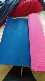 Yoga mat in Fort Riley, Kansas