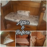 Refinished Wood Bench in Fort Knox, Kentucky