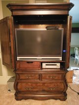 Armoire with TV and Sony Surround Sound - Very NICE!! in Kingwood, Texas