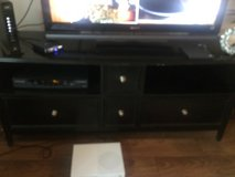 Black TV stand in Hinesville, Georgia