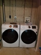 Samsung Washer and Dryer in DeKalb, Illinois