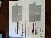 Mario tricoci gift cards in Morris, Illinois