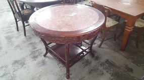MARBLE TOP TABLE in Camp Lejeune, North Carolina