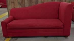 RED MODERN COUCH in Camp Lejeune, North Carolina