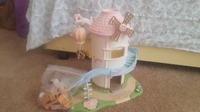 Calico critters windmill in Barstow, California