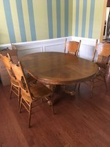 Dining room table and chairs in Camp Lejeune, North Carolina