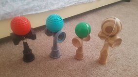 4 different Kendamas in Barstow, California