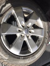 Factory Ford rims and pirelli tires in San Clemente, California