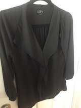 Ann Taylor Loft Blouse, Black, Size S in Camp Lejeune, North Carolina