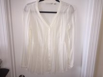 Lauren Conrad Blouse, Cream, M in Camp Lejeune, North Carolina