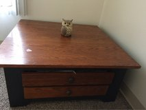 solid wood side table for sale in San Diego, California