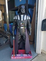 4.5 ft Darth Vader figure in Camp Pendleton, California