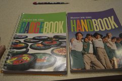 Jr Girl Scout Handbook & Badge book in Camp Lejeune, North Carolina