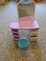 American girl spa desk in Plainfield, Illinois