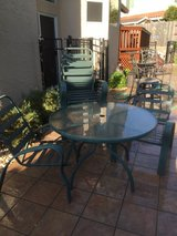Table - 8 chairs - 8 cushions in Fairfield, California