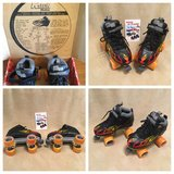 Rock Flame Roller Skates - size 7  (NIB) in Perry, Georgia