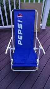 Pepsi Vintage Lounge Chair in Lockport, Illinois