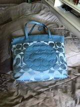 Coach Original Light Blue ( used couple times) in Fort Lewis, Washington