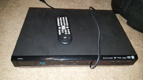 Magnavox Blu Ray Player with Remote in Conroe, Texas