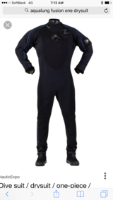 Aqualung Fusion One Drysuit. L/XL in Okinawa, Japan