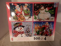 Brand New Set of 4 - 500 piece Puzzles in Naperville, Illinois