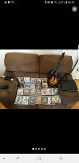 Sony Playstation 3 with equipment and 24 games. in Ramstein, Germany