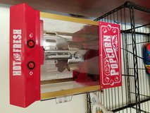Small popcorn machine in Lawton, Oklahoma