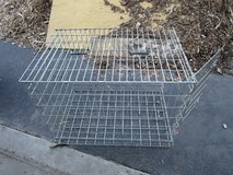 LARGE FOLDING HEAVY DUTY DOG CAGE in Naperville, Illinois