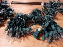 150 Miniature clear Lights - Green Wire in Oswego, Illinois