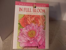 In Full Bloom Coloring Book in Shorewood, Illinois