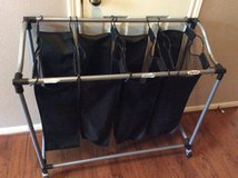 ***Black Four Divider Laundry Sorter*** in Cleveland, Texas