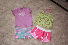 4T Purple and Flamingos - Swimsuits in Alamogordo, New Mexico