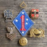 Vintage U.S. Military 7 Piece Lot in Tinley Park, Illinois