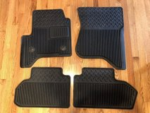 2014-2017 Chevy Silverado/GMC Sierra Rubber Floor Mats in Oswego, Illinois