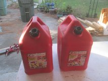 2 5 Gallon Gas Cans, Never had Gas in them in Perry, Georgia