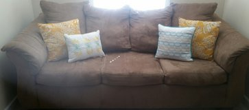 Microfiber couch in Fort Benning, Georgia