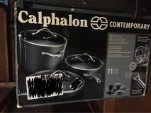 Used Calphalon Nonstick Pots and Pans Set in Fort Campbell, Kentucky