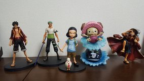 One Piece Action Figures in Okinawa, Japan