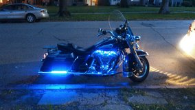 Harley Davidson RoadKing in Fort Leavenworth, Kansas