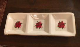 3 Section X-Mas Dish in Yorkville, Illinois