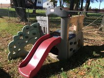 Climbing toy in Fort Campbell, Kentucky