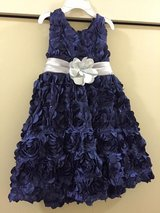 Girl Blue Ball Dress in Okinawa, Japan