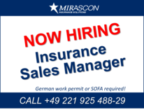 Insurance Sales Manager in Spangdahlem, Germany
